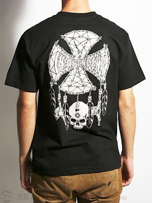 Independent Grind Catcher Tee Black SM
