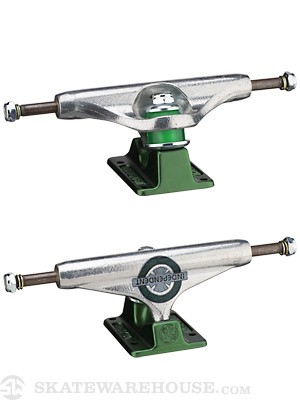 Indy S-11 139mm Haslam Trucks Silver/Green 8