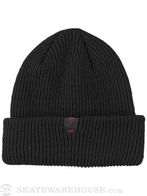 Independent Label Long Shoreman Beanie Black