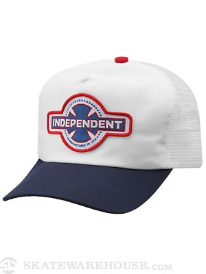 Indy MFG USA Hat Navy/White Adjust