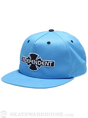 Independent OGBC Twill Snapback Hat Blue Adj.