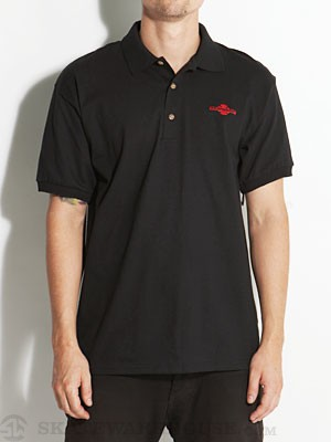 Independent OGBC Chest Polo Shirt Black SM
