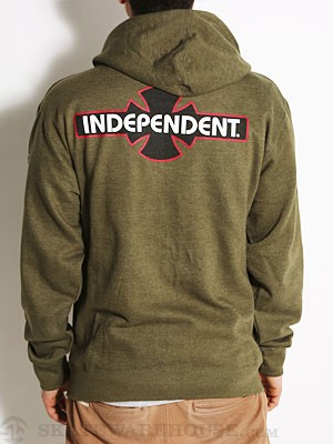 Independent OGBC Hoodzip Army SM