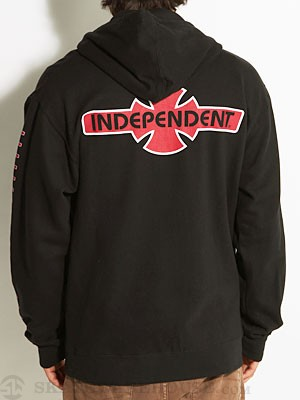 Independent OGBC Hoodzip Black SM