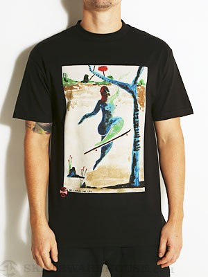 Indy P. Alv No Comply Tee Black SM