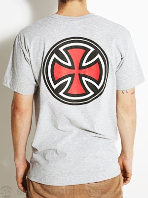 Independent Pin-Lined Cross Tee Ath. Heather SM