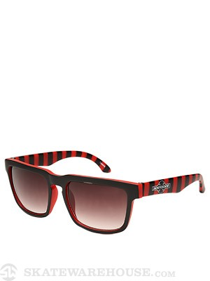 Independent Pattern Sunglasses  Red/Black Stripe