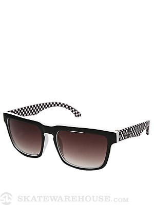 Independent Pattern Sunglasses  White/Black Checker