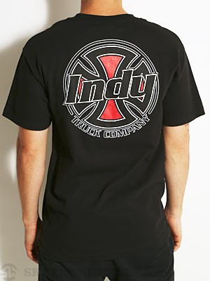 Indy Rally Tee Black SM