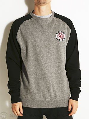 Indy RWC Crew Sweatshirt Grey/Black SM