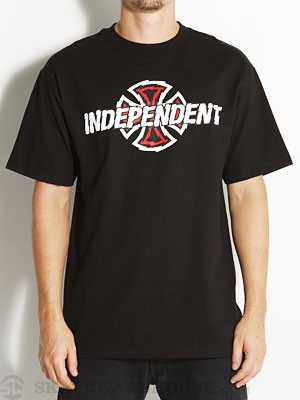 Independent Shredder Tee Black SM