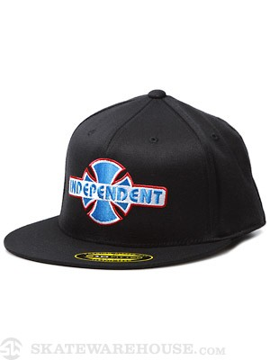 Independent Stock OGBC Flexfit Hat Black SM/MD