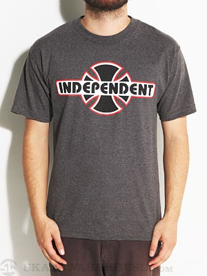 Independent Stock OGBC Tee Heather Charcoal SM