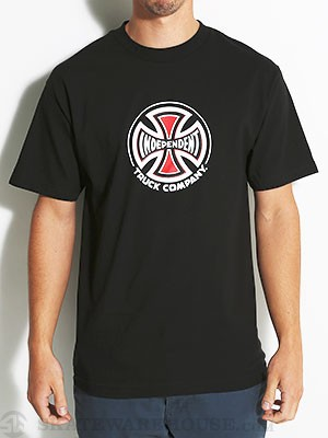Independent Truck Co. Tee Black SM