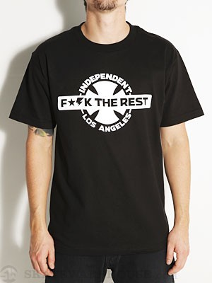 Independent United Los Angeles Tee Black SM