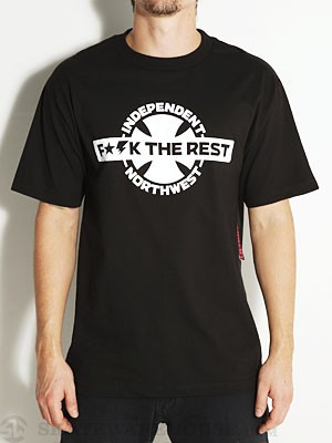 Independent United Northwest Tee Black SM
