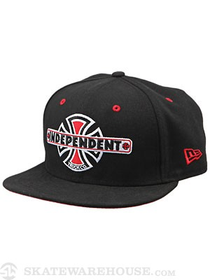 Independent Vintage B/C New Era Hat Black 7 1/2