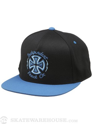 Independent Voltage Flexfit Snap Hat Blk/Blue