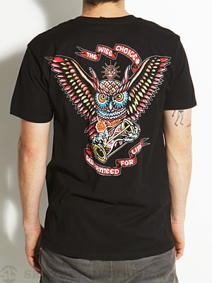 Independent Wise Choice Tee Black SM