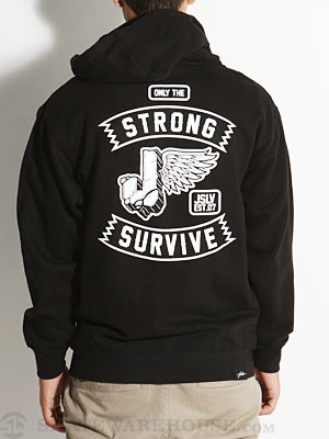 JSLV Durable Hoodzip Black SM
