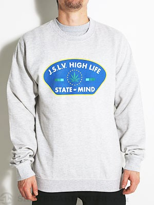 JSLV Mindstate Crew Sweatshirt Ath Heather MD