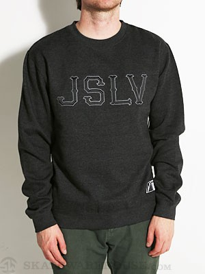 JSLV Outfield Crew Sweatshirt Heather Charcoal SM
