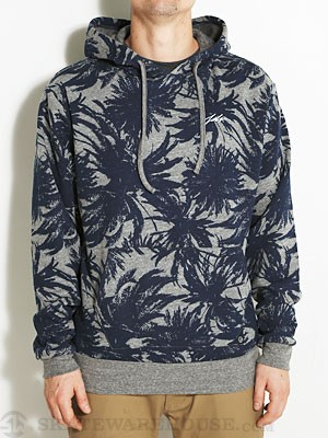 JSLV Palms Limited Edition Hoodie Grey/Navy SM