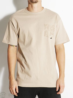 JSLV Explorer Custom Pocket Tee Sand SM