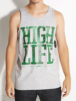 JSLV High Life Tank Athletic Heather XL