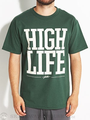 JSLV High Life Tee Hunter Green SM
