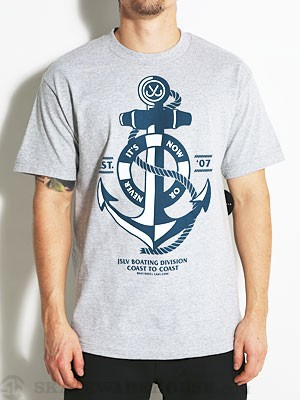 JSLV Nautical Tee Athletic Heather SM