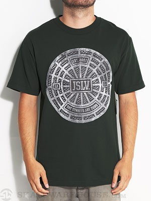JSLV Streets Are Ours Tee Hunter Green SM