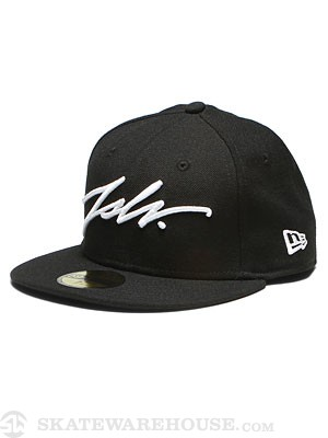 JSLV Signature New Era Hat Black 7 1/2