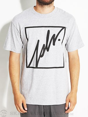 JSLV Squared Outline Tee Athletic Heather SM