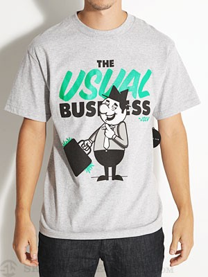 JSLV The Usual Tee Athletic Heather SM