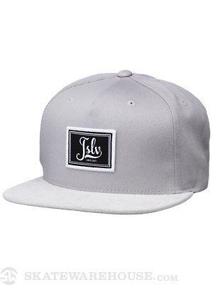 JSLV Workshop Strap Back Hat Grey Adj.