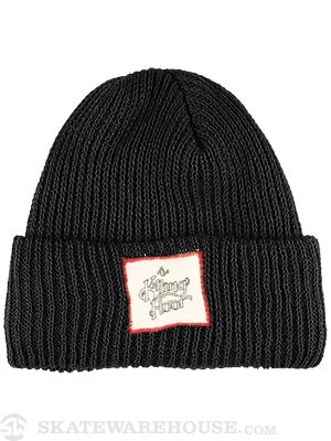 The Killing Floor TKF Logo Fold Beanie Black