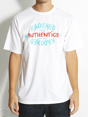 Krooked Authentico Tee White XL
