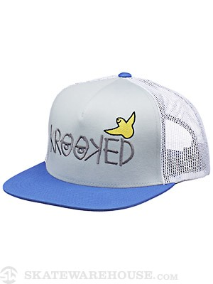 Krooked Birdie Trucker Grey/White/Blue Adj.