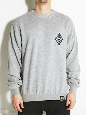 Krooked Exkaliber Sweatshirt Athletic Heather SM