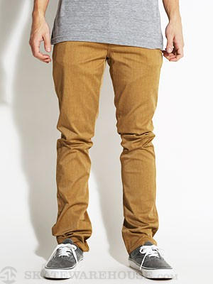 KR3W Slim 5 Pocket Twill Pants Drab 28