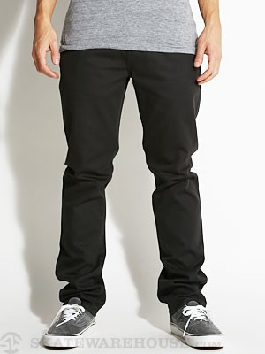 KR3W Slim 5 Pocket Twill Pants Carbon 32