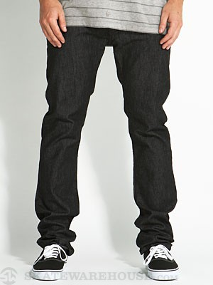 KR3W K Slim Jeans Dark Black 30