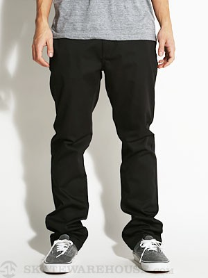 KR3W Klassic Chino Pants Black 34