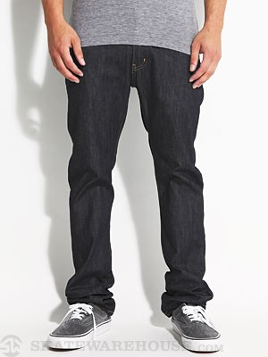 KR3W Slim Jeans Raw Blue 28