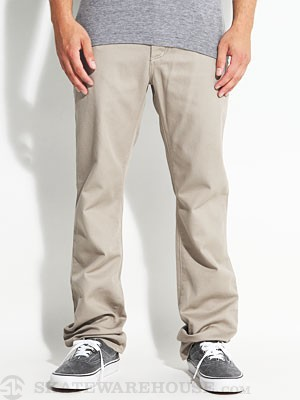 K Slim 5 Pocket Twill Pants Dark Khaki 32