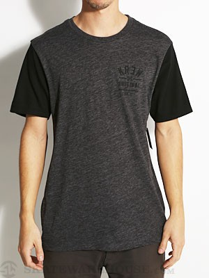 KR3W Upper Division Color Block Tee Charcoal XL