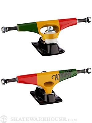 Krux 4.0 DUB Tall Forged Trucks Rasta 8