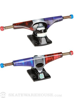 Krux 5.0 The Fuzz Tall Trucks Blue/Red 8.5
