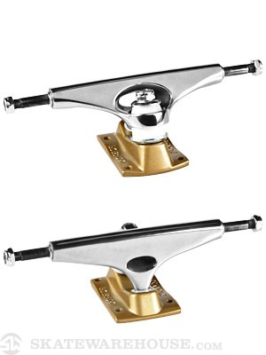 Krux 3.5 Mirrorcool Tall Trucks Silver/Gold 7.75